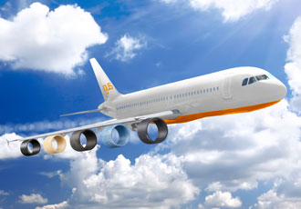 Tribopolymer bearings FAA-approved for aircraft interiors
