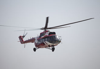 Production helicopter takes its first flight