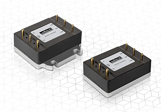 1/16th brick DC/DC converters for industrial and railway applications