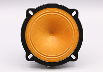 Harsh environment speaker featuring extended frequency range
