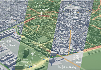 Digital twin of the city of Antwerp