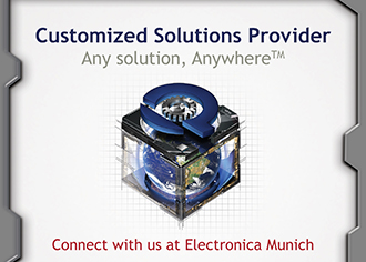 Customised solutions at electronica