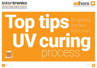 This UV curing guide offers top tips