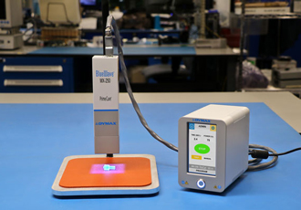 LED curing system suitable for UV adhesives and coatings