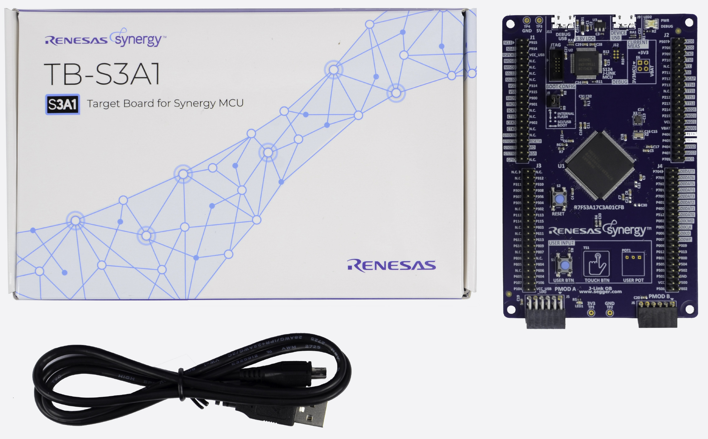 MCU group for the Renesas Synergy software package