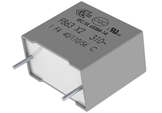 Automotive grade film capacitors provide robust filtering