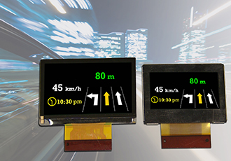 LCD panels support automotive head-up-displays