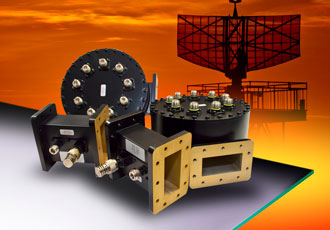 High power radial combiner designed for upgrade programme