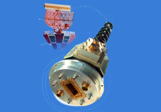 Multichannel rotating joint assembly for S-band radar application
