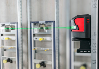 Cross and point line lasers offer increased visibility
