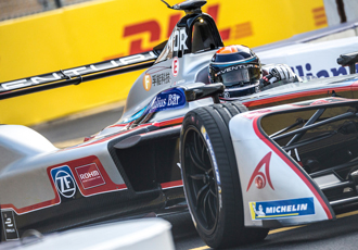 ROHM and VENTURI collaborate on Formula E