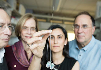 Ultra-thin needle delivers drugs directly to the brain