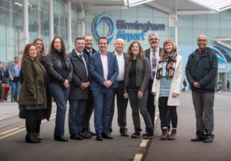 Birmingham Airport helps students prepare magnesium for take off