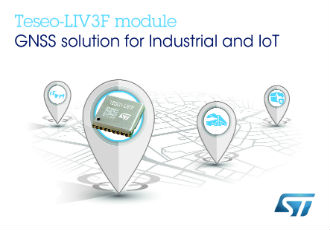 Easy-to-use GNSS module leverages proven Teseo III chip