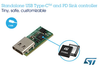 Ecosystem extensions support USB-C on microcontrollers