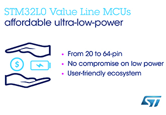 Ultra-low-power MCU family overcomes cost constraints