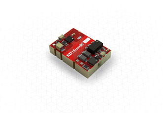 SMT DC/DC converter is cost effective and fully regulated