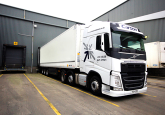 Tractor units chosen for refrigerated haulage duties