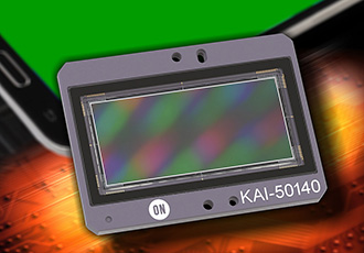 CCD image sensor targets inspection of smartphone displays