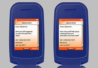 Text messaging tool helps patients at risk of opioid relapsing