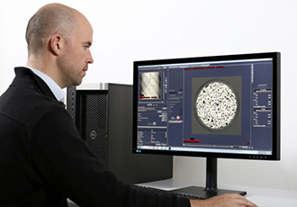 Tomographic imaging with faster results for geologists