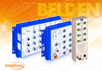 Secure data transmission with rugged switches from Belden