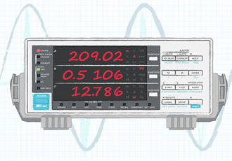 AC-DC efficiency measurements need to include power factor