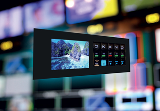 Rackmount display range features mechanical touch technology