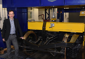 Durable rail bogies turns to carbon fibre and 3D printing