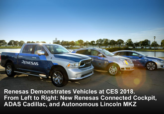 Renesas hits the accelerator on autonomous and cockpit development