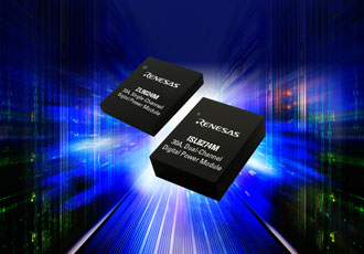 Fully encapsulated dual power modules offers high power density