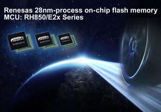Flash memory microcontroller features embedded flash technology
