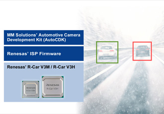 Image signal processor designed for automotive camera systems