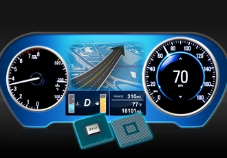 High-End 3D Graphics for Large-Scale Display Instrument Clusters