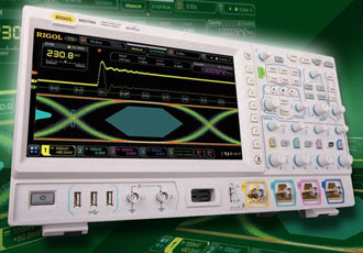 10.1 inch colour screen enhances oscilloscope signal display