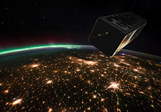 Testing high-frequency signals for satellites