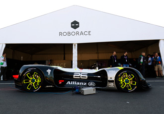 Roborace brings driverless tech to the Autosport stage