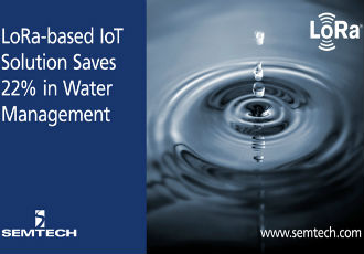 LoRa-based IoT solution saves 22% in water management