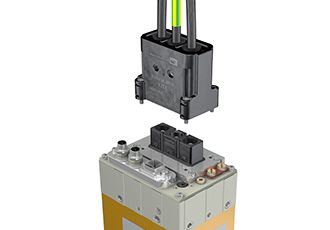Connector mounts for RobiFix-MINI high frequency welding lines
