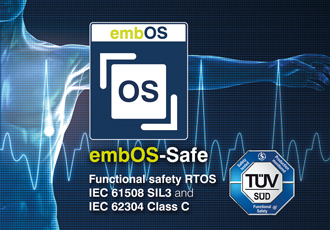 RTOS certified for safety-critical applications