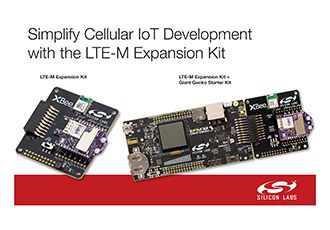 Low power cellular IoT applications with LTE-M solution accelerated