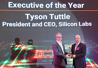 Silicon Labs CEO Named Executive of the Year