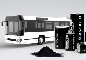 Ultracapacitors boost double deck buses by reducing fuel consumption