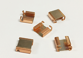 Four terminal shunts for high sensing efficiency