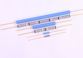 Axial leaded resistors designed for high voltage handling