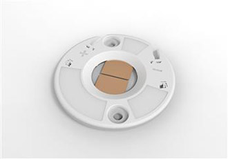 LED holders compatible with COB-LED lighting components