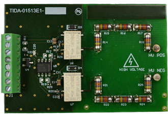 Automotive high voltage leakage measurements reference design