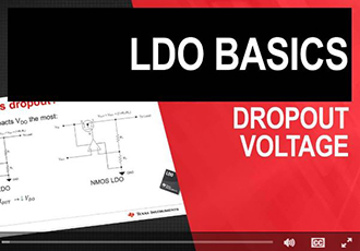 What is the importance of dropout voltage?