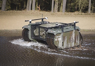 Autonomous Last Mile Resupply: TITAN robot put through its paces