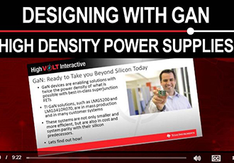 Designing reliable and high density power solutions with GaN